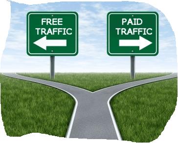 Perbandingan Antara Free Traffic Vs Paid Traffic