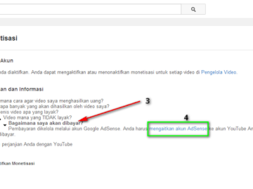 Cara Agar Chanel Youtube Di approve Adsense Youtube