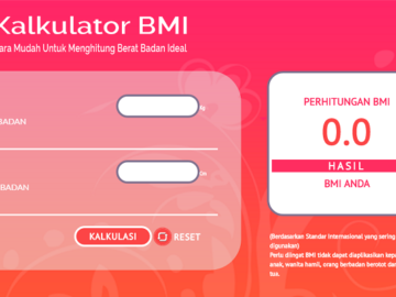 Plugin Interaktif Kalkulator Body Mass Index