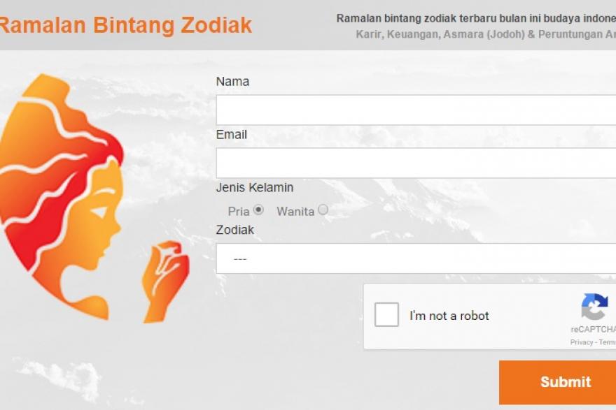 Plugin Wordpress Interaktif Ramalan Zodiak