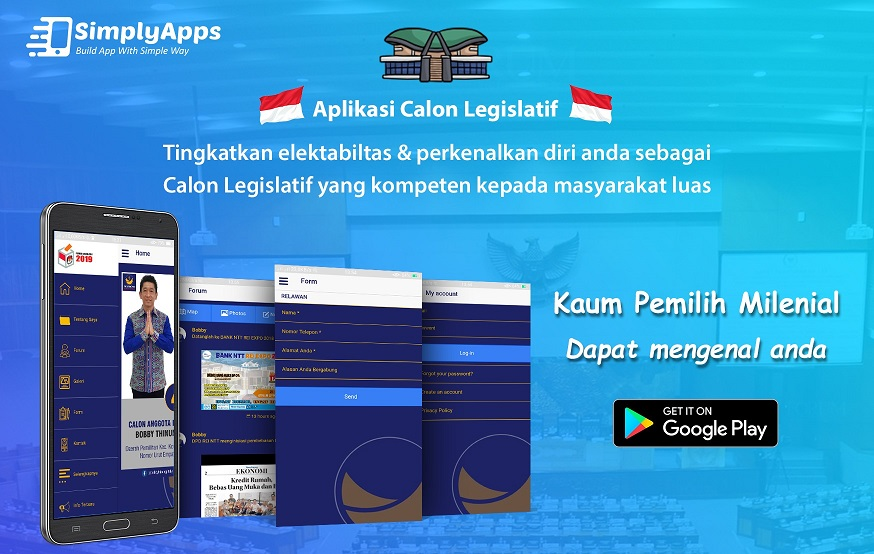 aplikasi untuk caleg